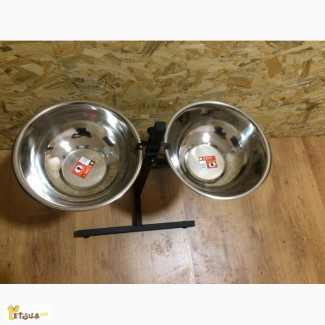 Миски для собак: на штативе, на подставке 0.75, 1.8, 2.8, 3.5, 4.5 л