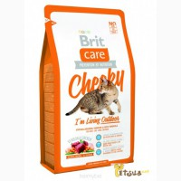Корм для кошек BRIT CARE Cat Cheeky I 180; m Living Outdoor