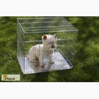 Клетки переноски вольеры для собак 63х50х53 см
