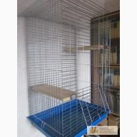 Клетка для шиншилл, белок, хорьков, крыс или птиц h85х55х42 см (новая)