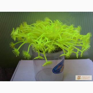 Искуственные силиконовые аквариумные растения - Актинии SH 189