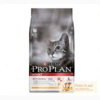 Корм для кошек и котов PRO plan purina 10 кг
