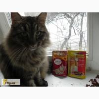 Корм для кошек -пауч по 100г Friskies, Мяу, 4 Лапы. Сухой корм для кошек 4 Лапы и Optimeal