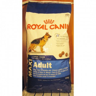 Корм Роял канин Royal Canin Maxi Adult Макси эдалт 15 кг