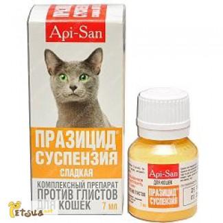 Празицид -суспензия сладкая для кошек