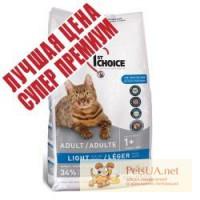 1st Choice (Фест Чойс) малокалорийный сухой супер премиум корм для котов с избыточным весом