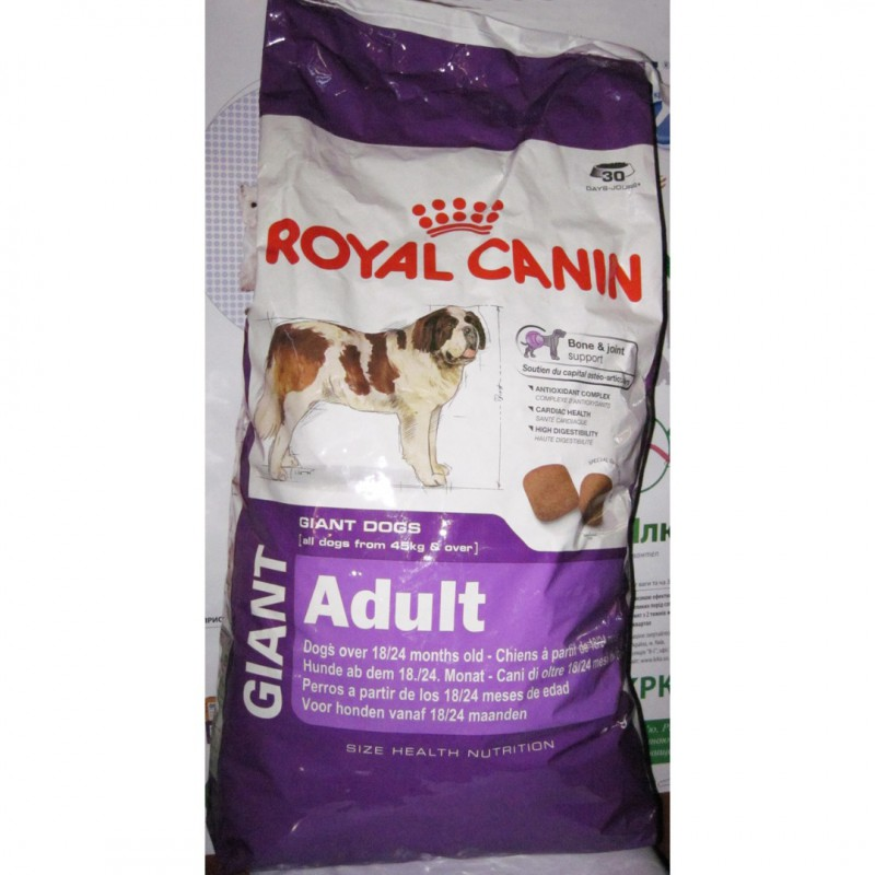 Корм royal canin giant