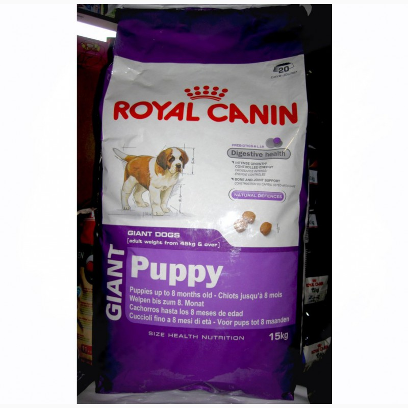 Корм royal canin giant 15 кг