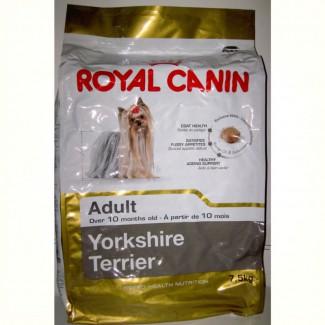 Роял канин Royal Canin Йоркшир эдалт Yorkshire Terrier Adult 7, 5 кг