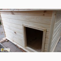 Утепленная будка для немецкой овчарки